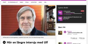 Ulf Blomdahl i SR P4 Stockholm